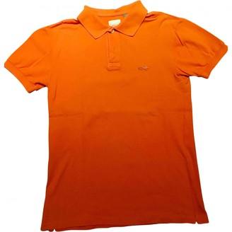 Marc Jacobs Orange Cotton Polo shirts