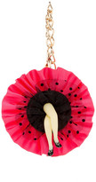 Betsey Johnson Can Can Girl Dangle Fob