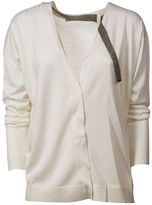 Brunello Cucinelli Neck Lace Cardigan