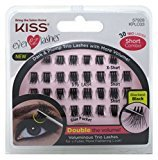 Kiss Ever-Ez Trio Lashes Short Combo - Blackest Black (6 Pack)
