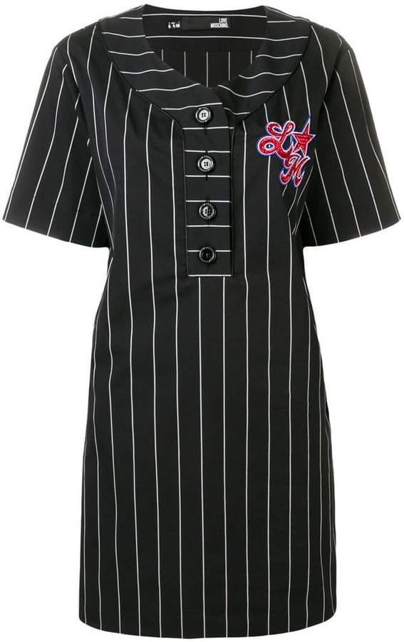 d27d1e8cf52 Embellished T-shirt Dress - ShopStyle
