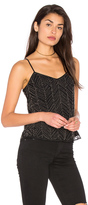 Ella Moss Frances Beaded Mesh Cami