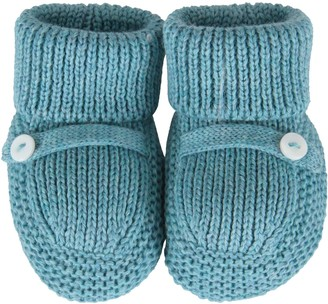 Little Bear Turquiose Baby Bootee For Babyboy