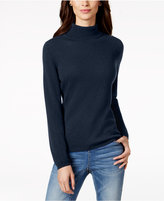 Charter Club Petite Cashmere Turtleneck Sweater, Created for Macy's