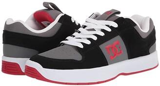 DC Lynx Zero (Black/Grey/Red) Men's Shoes
