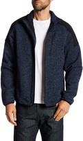 Izod Zip Front Fleece Sweater