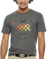 Vans Bear Check Graphic T-Shirt