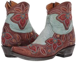 Old Gringo Marrione Zipper Dance (Brass) Women's Boots
