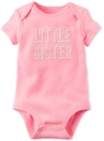 Carter's Little Sister Bodysuit, Baby Girls (0-24 months)