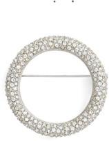Nadri Women's Pave Circle Brooch