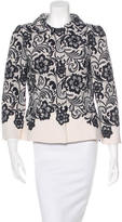 Dolce & Gabbana Printed Virgin Wool Blazer w/ Tags