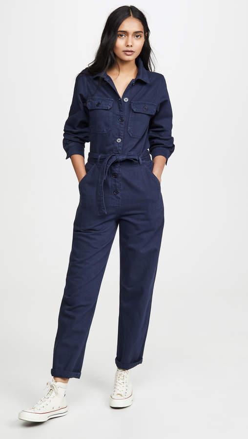 Kendall Boiler Suit Jumpsuit by Kendall Boiler Suit Jumpsuit
