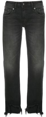 R 13 Maura straight leg jeans