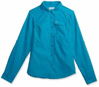 Columbia Women's Silver Ridge 2.0 Long Sleeve Shirt UV Sun Protection Moisture Wicking Fabric