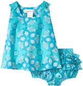 Masala Boogie And Rhythm Bloomer Set (Baby) - Turquoise-18-24 Months