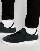 Nike Tennis Classic Cs Suede Trainers In Black 829351-002