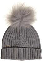 Woolrich Women's Grey Wool Hat.