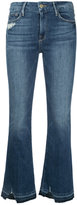 Frame cropped flared jeans - women - Cotton/Polyester/Spandex/Elastane - 25