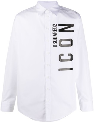 DSQUARED2 ICON long-sleeve shirt