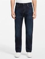Calvin Klein Relaxed Straight Fit Dark Wash Jeans