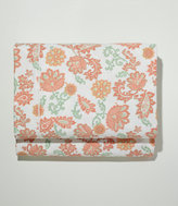 L.L. Bean 340-Thread-Count Cotton Sateen Sheet, Flat Floral