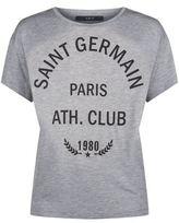 SET Varsity Print T-Shirt