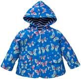 Shiny Toddler Little Girls Kids Waterproof Hoodied Coat Jacket RainCoat