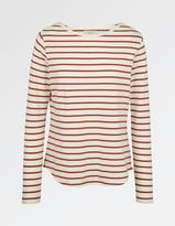 Fat Face Stripe Breton Top