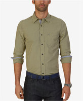 Nautica Men's Micro-Plaid Shirt