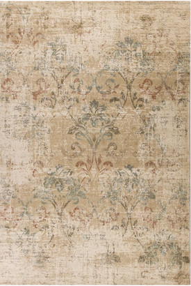 "Kas Rugs & Home Heritage 9351 Champagne Damask Rug, 7'7""x10'10"""