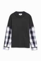 Maison Margiela Check Sleeve Shirt