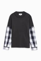 Maison Margiela Check Sleeve Shirt