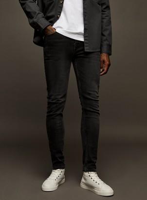 TopmanTopman Grey Wash Stretch Skinny Jeans