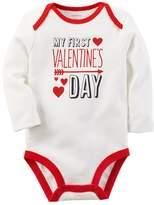 "Carter's Baby First Valentine's Day"" Graphic Bodysuit"