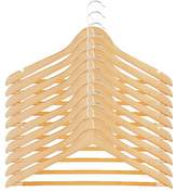 Honey-Can-Do 10 Pack Wood Maple Suit Hanger
