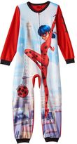 Girls 6-12 Miraculous: Tales of Ladybug & Cat Noir One-Piece Pajamas