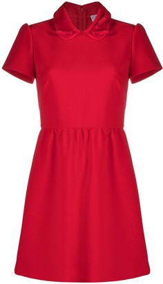 RED Valentino Peter Pan collar mini dress