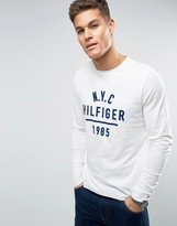 Tommy Hilfiger Pando Long Sleeve Top 1985 Logo
