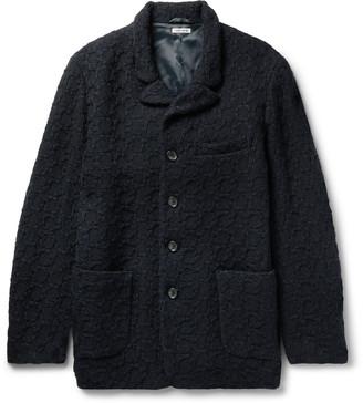 Blue Blue Japan Wool-Jacquard Jacket