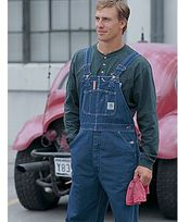 Carhartt® R07 Washed Denim Overalls