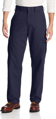Carhartt Men's Big & Tall Flame Resistant Canvas Cargo Pant