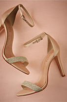 BHLDN Dipped Glitter Heels