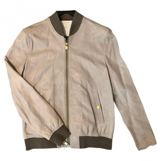 Marc Jacobs Beige Leather Jackets
