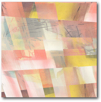 Courtside Market Wall Decor Abstract Weave Ii Gallery-Wrapped Canvas Wall Art
