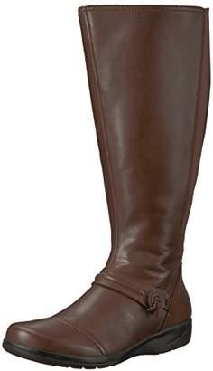 Clarks Women's Cheyn Whisk Wide Calf Knee High Boot