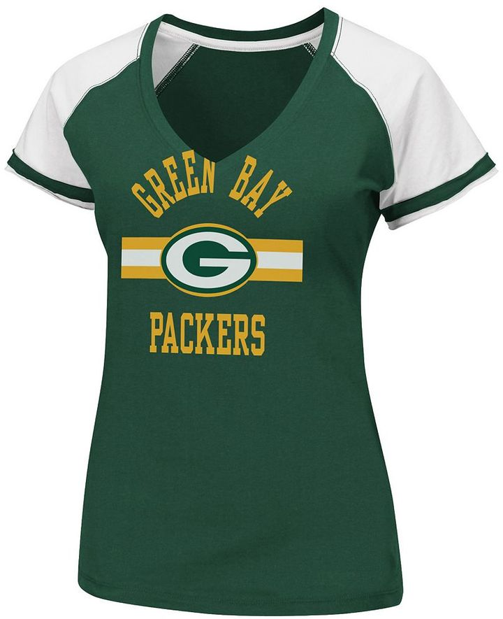 Green bay packers go for two ii tee - women