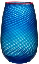 Kosta Boda Red Rim Large Vase