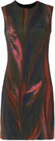 OSKLEN printed straight dress - women - Spandex/Elastane/Viscose - P