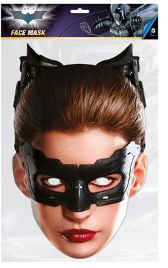 Batman The Dark Knight Catwoman Facemask Costume Accessory