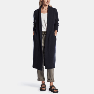 James Perse Felted Cashmere Cardigan